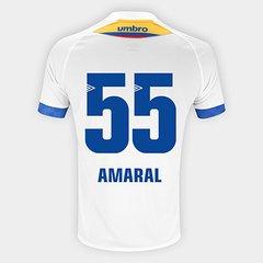 Camisa Chapecoense II 2018 N° 55 Amaral - Torcedor Umbro Masculina 03a0721f6dc2c