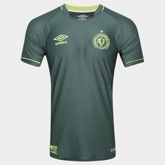 66d2396449 Camisa Chapecoense Libertadores s nº Torcedor Umbro Masculina - Verde