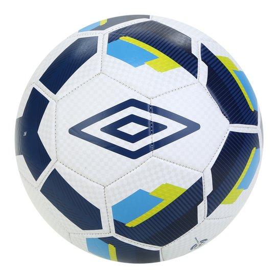 Bola de Futebol Campo Umbro Hit Supporter - Branco+Verde