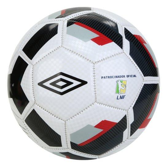 Bola de Futsal Umbro Hit Supporter - Branco+prata