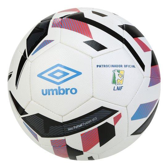 Bola de Futsal Umbro Neo Fusion - Azul+Vermelho