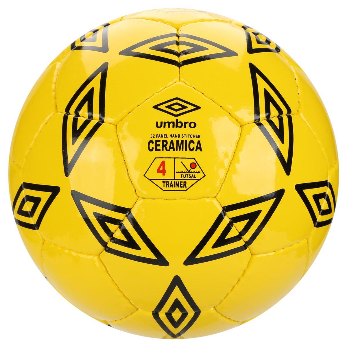 164a9ccf80 Bola Futsal Umbro Cerâmica - Amarelo e Preto - Compre Agora