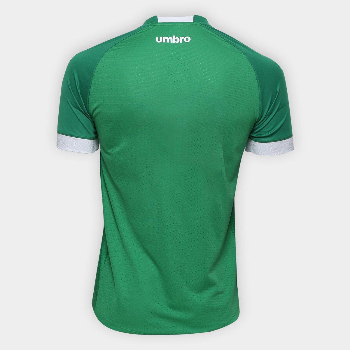 Camisa Chapecoense I 2018 s n° Torcedor Umbro Masculina - Verde e ... 63c4ca7f3924b