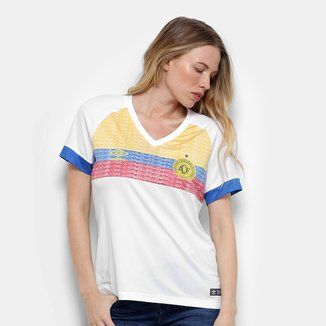 Camisa Chapecoense II 2018 s/n° La Pasion Torcedor Umbro Feminina