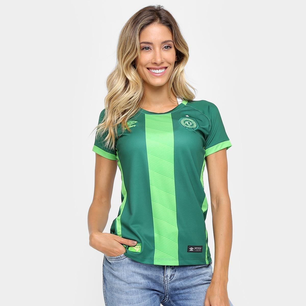 6134f13012a57 Camisa Chapecoense III 16/17 s/nº Torcedor Umbro Feminina | Loja da Chape