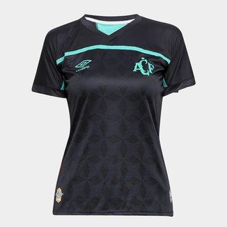 Camisa Chapecoense III 20/21 s/n° Torcedor Umbro Feminina