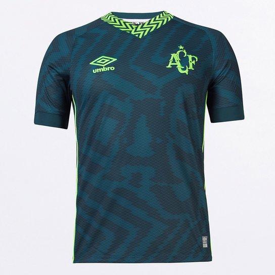 Camisa Chapecoense III 21/22 s/n° Torcedor Umbro Masculina - Verde