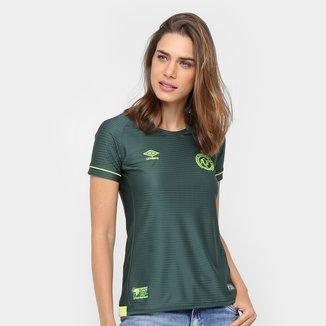 Camisa Chapecoense Libertadores s/nº Torcedor Umbro Feminina