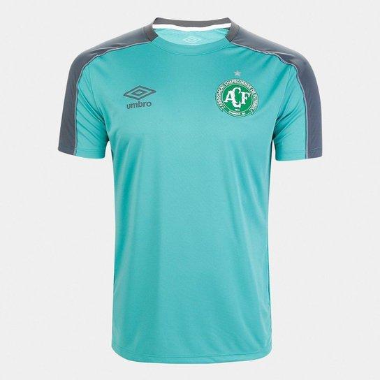 Camisa Chapecoense Treino 19/20 Umbro Masculina - Verde água