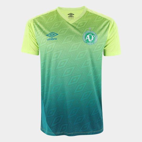 Camisa Chapecoense Treino 20/21 Umbro Masculina - Verde escuro