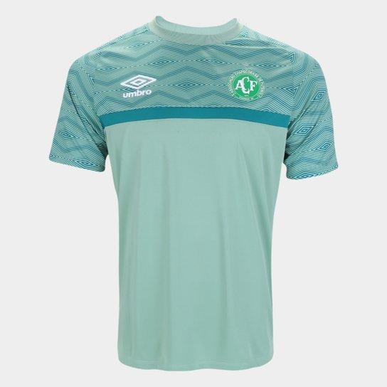 Camisa Chapecoense Treino 21/22 Umbro Masculina - Verde
