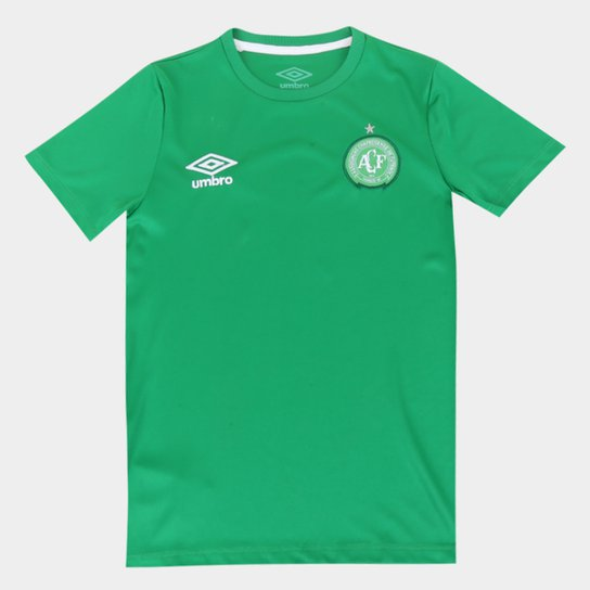 Camisa Juvenil Chapecoense Umbro Básica - Verde