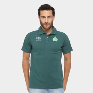 Camisa Polo Chapecoense Umbro Viagem 17/18 Masculina