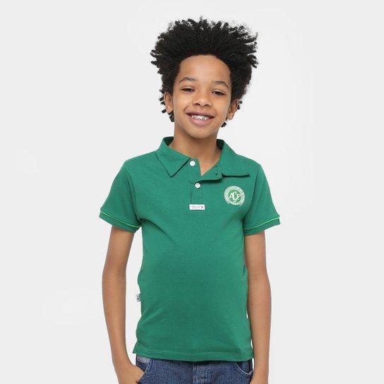 Camisa Polo Infantil Chapecoense II - Verde