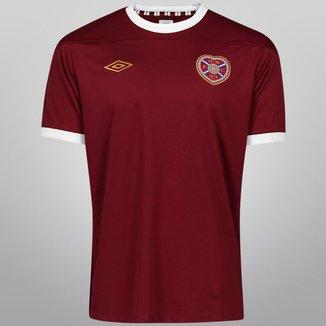 Camisa Umbro Hearts Home 11/12 s/n°