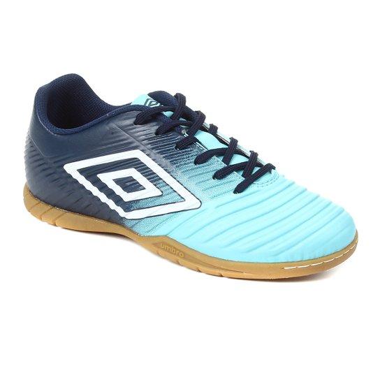 Chuteira Futsal Fifty III Umbro - Azul+Branco