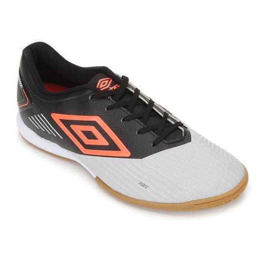 Chuteira Futsal Umbro Soul II Club - Prata+Preto