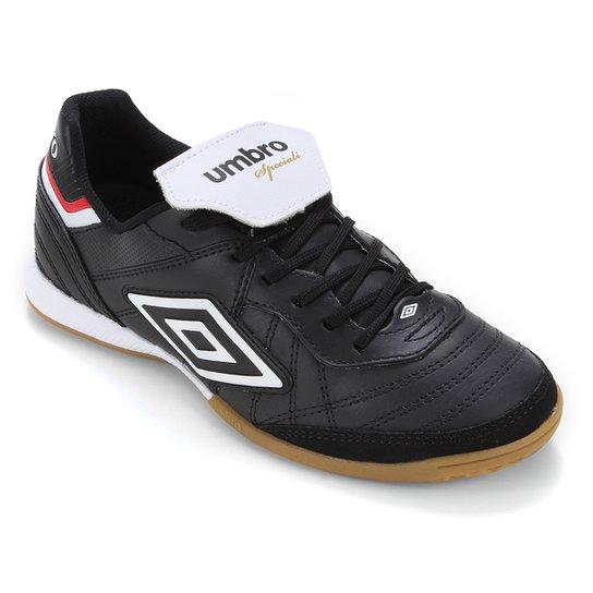 Chuteira Futsal Umbro Speciali III Premier - Preto