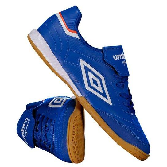 Chuteira Futsal Umbro Speciali III - Azul