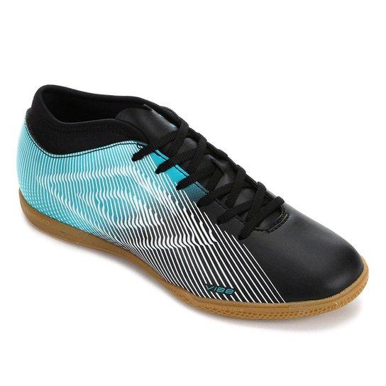 Chuteira Futsal Vibe II Umbro - Preto+Azul