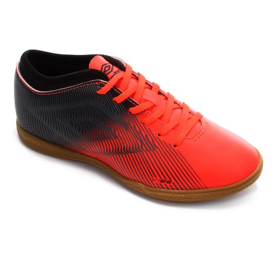 Chuteira Futsal Vibe II Umbro - Coral