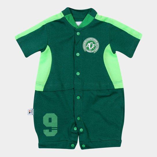 Macacão Chapecoense Infantil Artilheiro - Verde