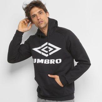 Moletom Umbro Large Logo c/ Capuz Masculino