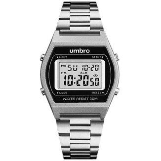 Relógio Digital Umbro Pulseira Metal Clássico