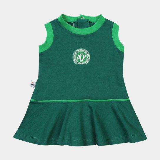 Vestido Chapecoense Infantil - Verde